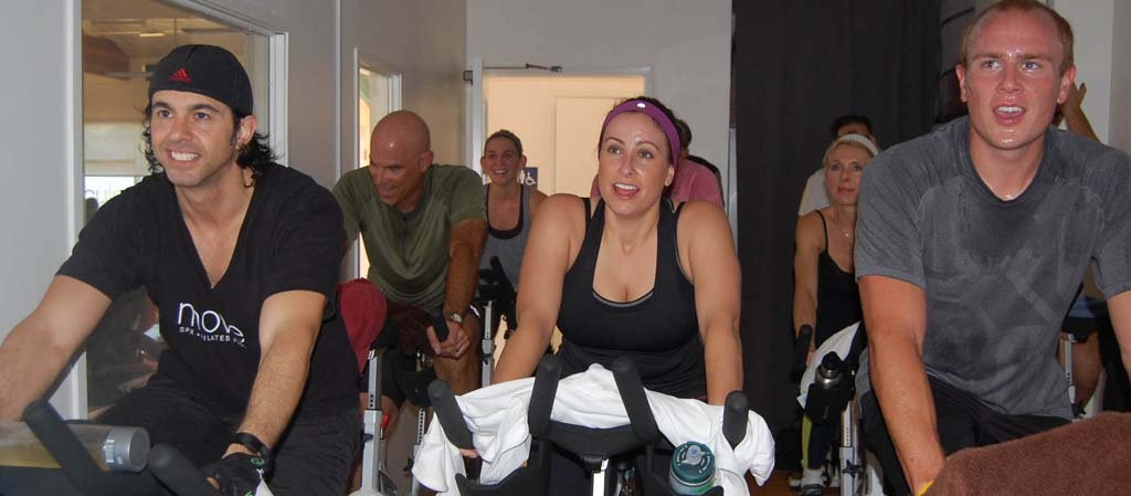 Fitness studio owner cycles 12 hours for a cause
