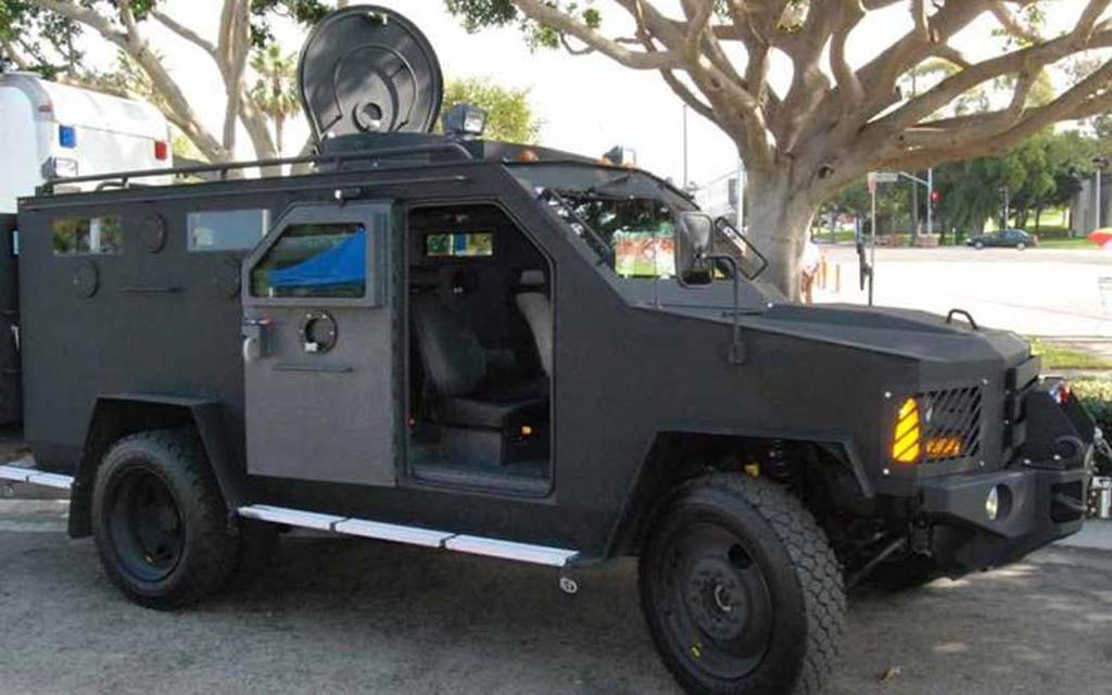 Carlsbad Police roll out new armored vehicle for their SWAT Unit