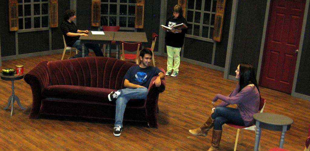 Students prepare for first production in new theatre