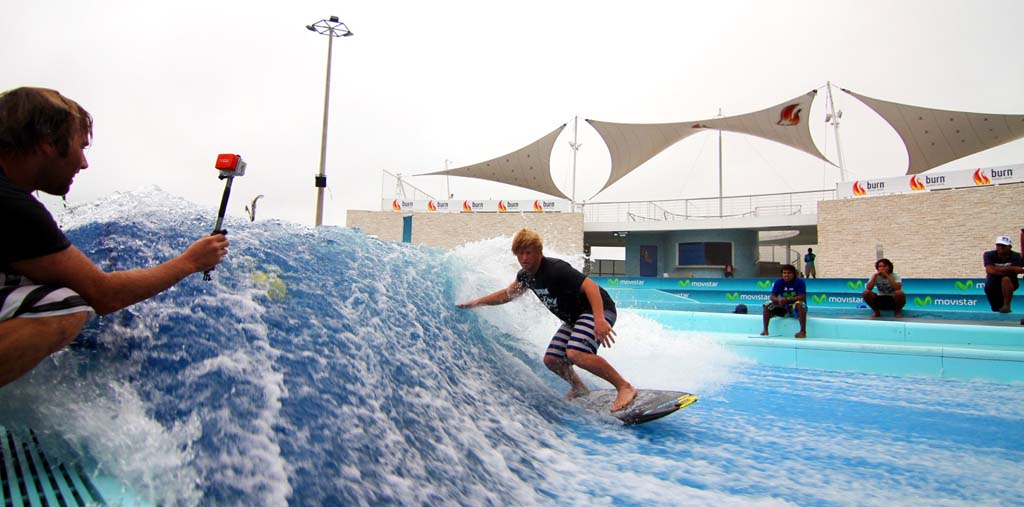 Man's love of surf leads to wave machine technology