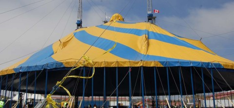 Cirque du Soleil raises roof on latest production