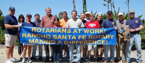 Rotarians rise to occasion for worldwide at work day