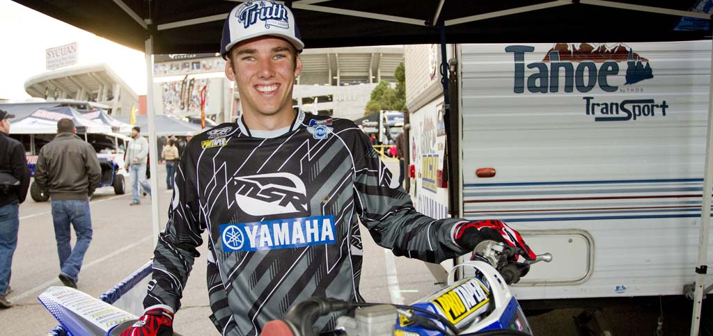 Vallee badly injured in race, benefit planned