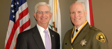 Scripps Health CEO named Sheriff's Dept. Volunteer of Year