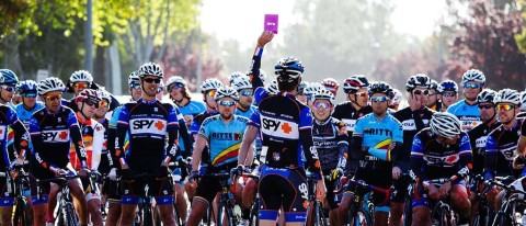 Cyclists with poor sportsmanship draw dreaded 'Purple Card'