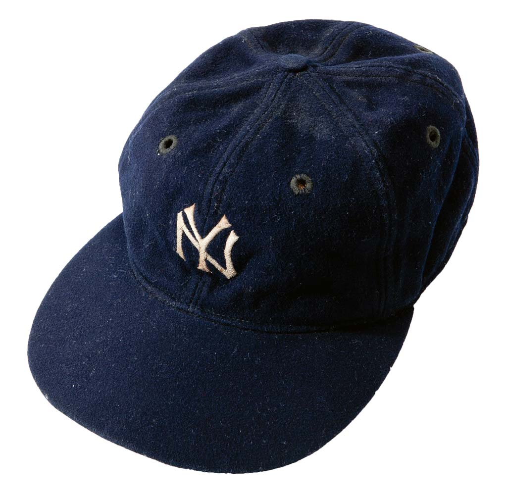 Wells to auction off rare Babe Ruth cap