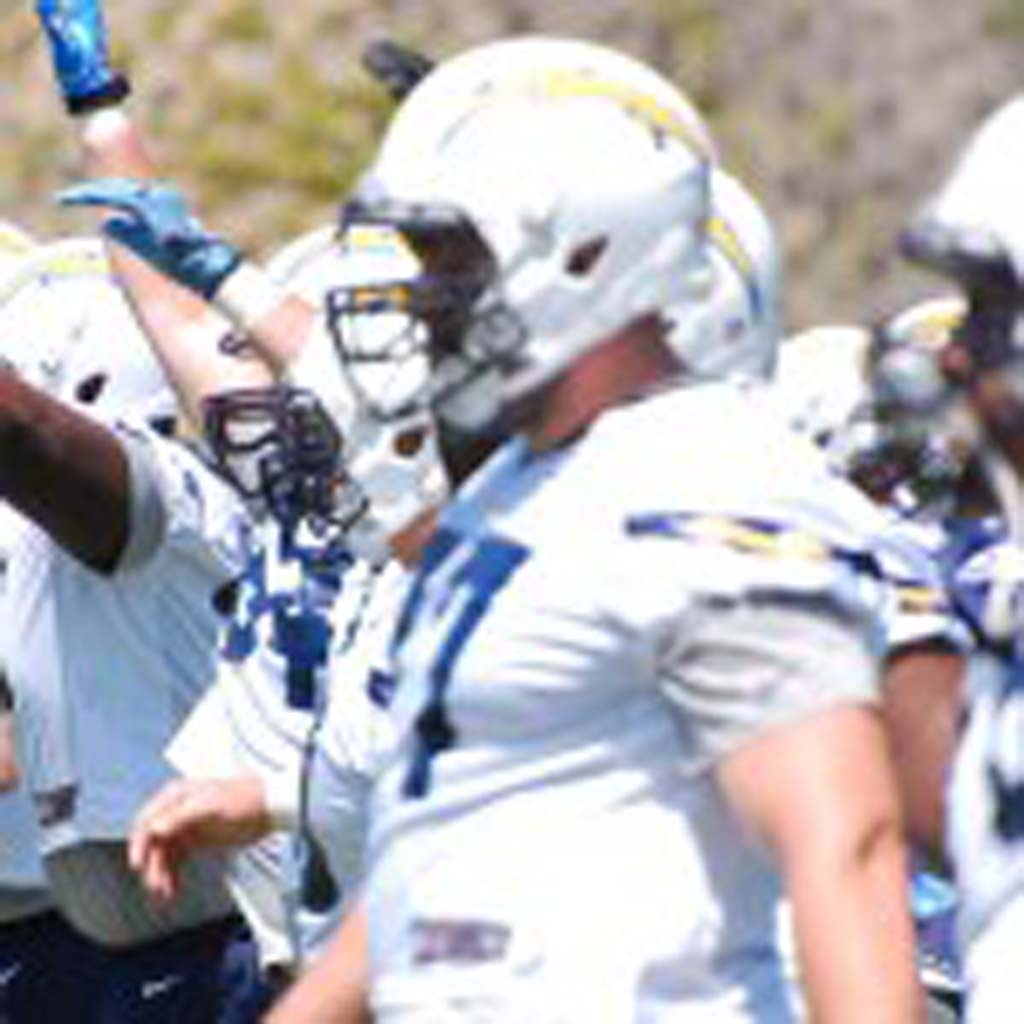 Chargers host rookie orientation and practice May 11 at Chargers Park. Photo by Tony Cagala