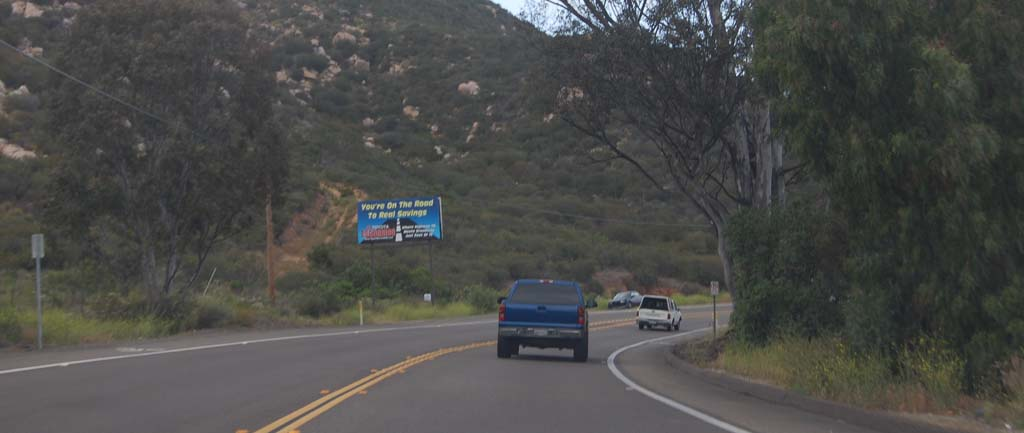Association finds traffic on Del Dios Highway decreasing