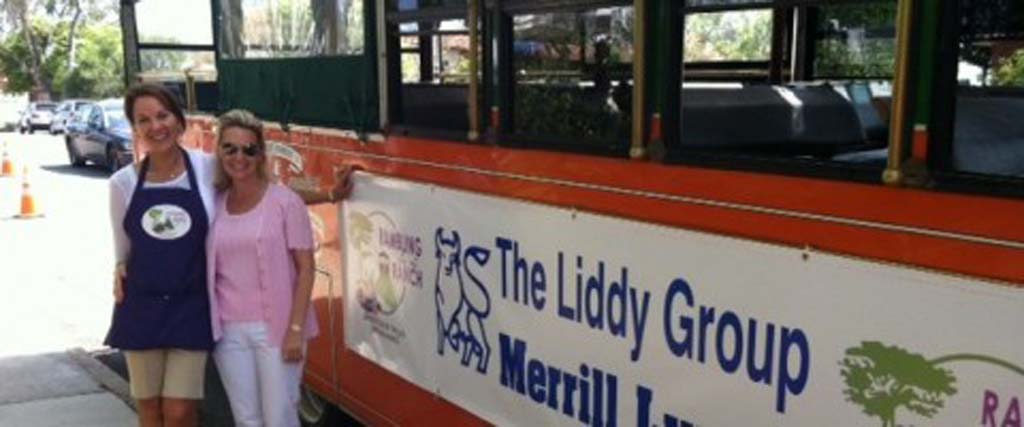 Take a trolley tour through the Ranch