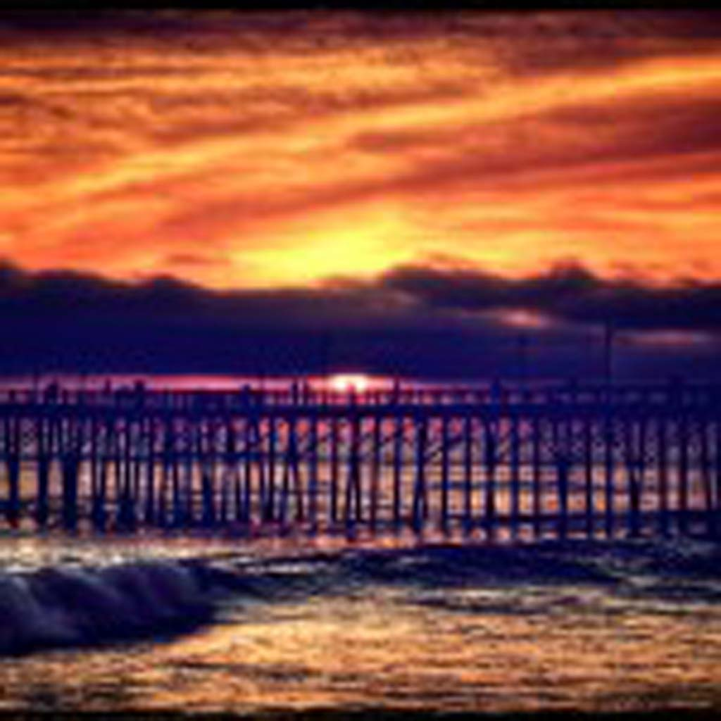 """Oceanside Pier"" by Scott Saw."