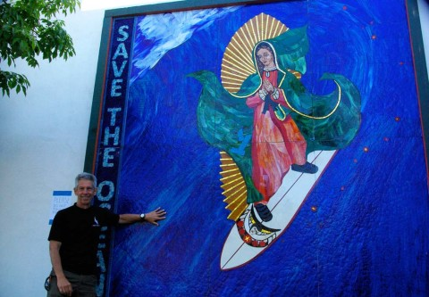Iconic mosaic has place to call home