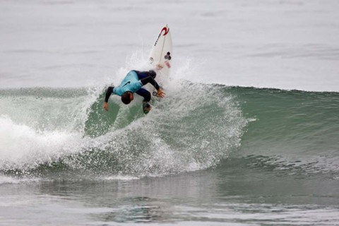 For Knox, love of surf wasn't a choice