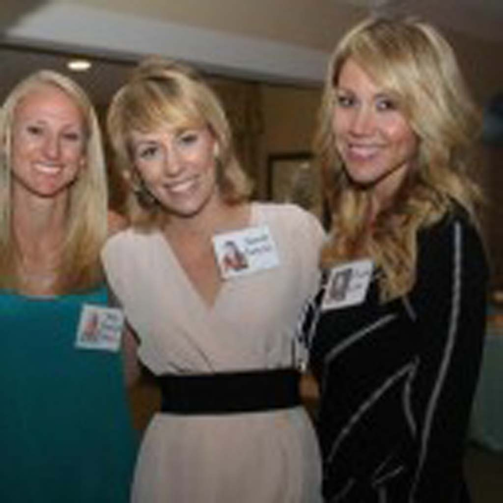Jenny Rochelle, Jenna Munguia and Priscilla Wood at their 10 year high school reunion for San Dieguito High School Academy. courtesy photo.