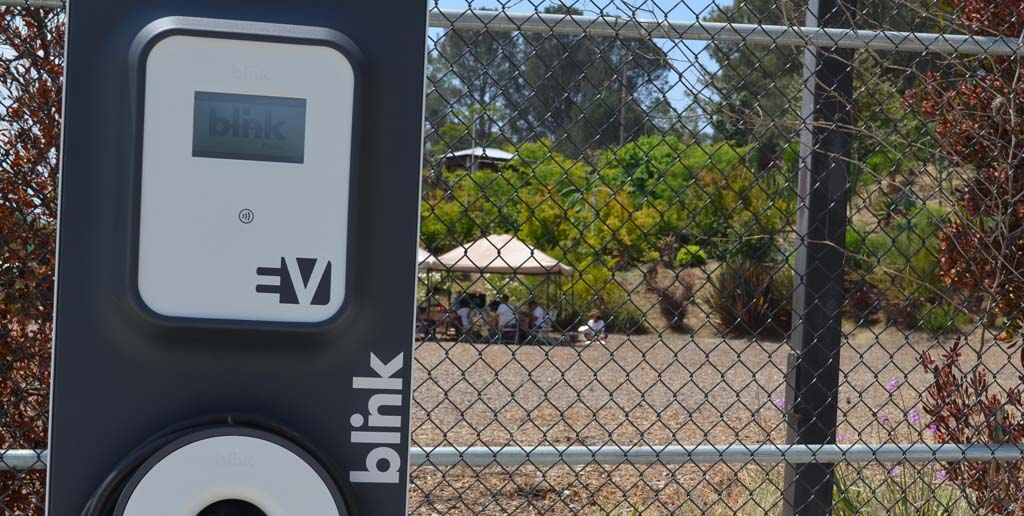 EV chargers bloom at San Diego Botanic Garden