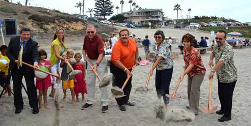 Groundbreaking ceremonies held for Encinitas Community Park and Moonlight Beach improvements