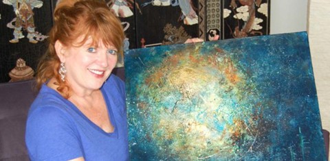 Scientist-turned-artist has successful new career