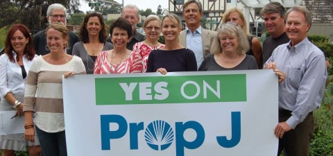 Yes on J group kicks off campaign
