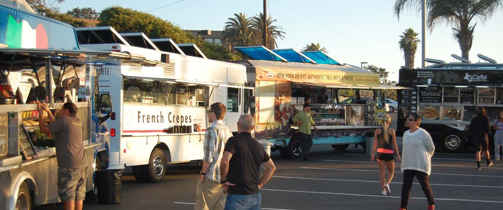 Food trucks can stay in Del Mar, but gatherings may not be allowed to expand