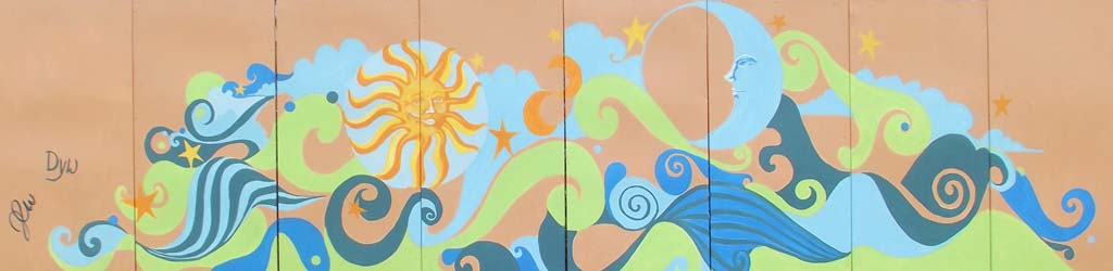 Art from life: Local artists' works featured along Rail Trail
