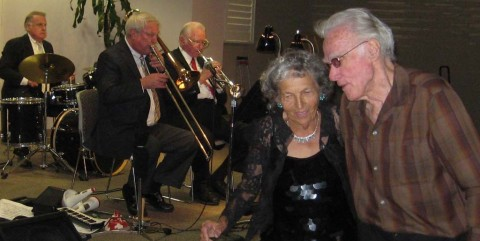 Billy Harper and his band pack the halls