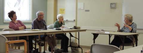Forget nouns and verbs, workshop asks seniors to write out their lives