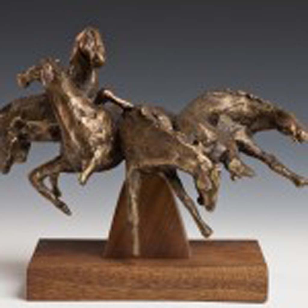 "James Hubbell's ""Horses"" will be among the pieces on view during the ""In Search of Shadows"" public sculpture exhibit, opening Feb. 3 at the Oceanside Museum of Art."