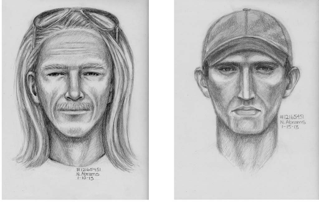 Composite sketches of home invasion suspects released