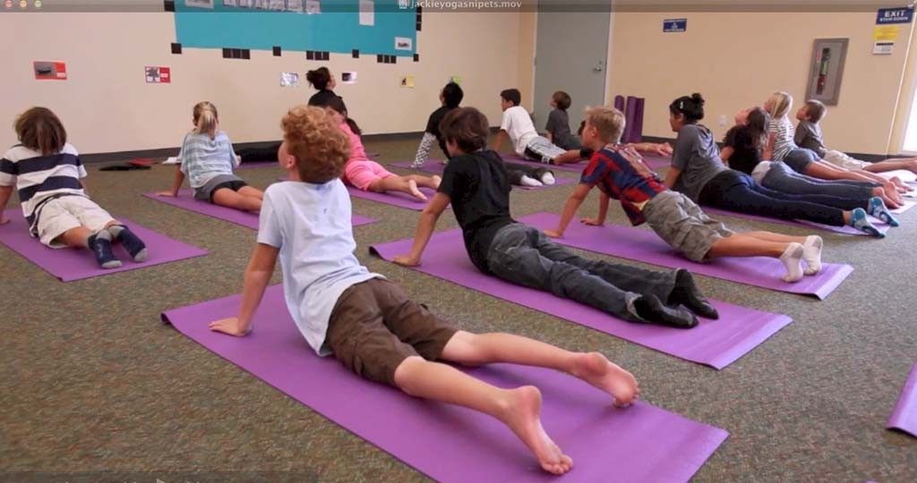 Yoga classes set to debut at more schools Monday