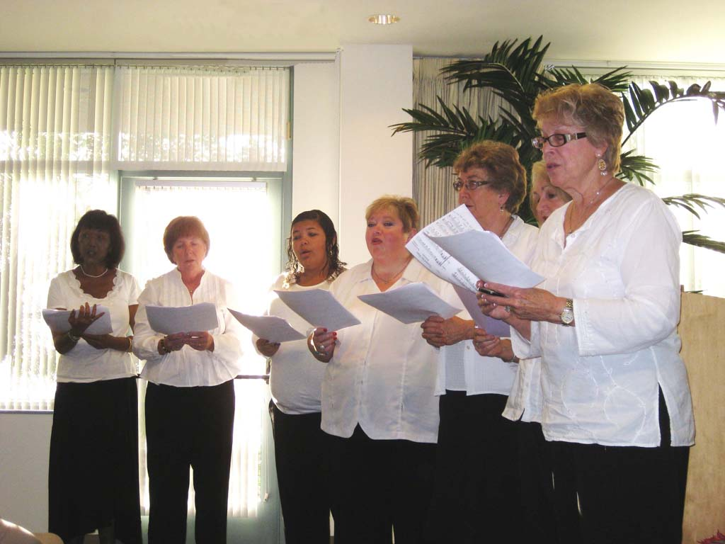 Hospice choir combines singing and compassion