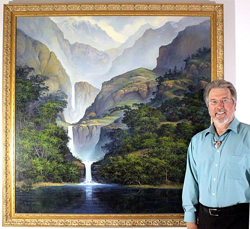 Artistic naturalist promotes preservation of Earth's wonders