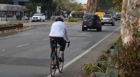 Researchers count cyclists for city plans