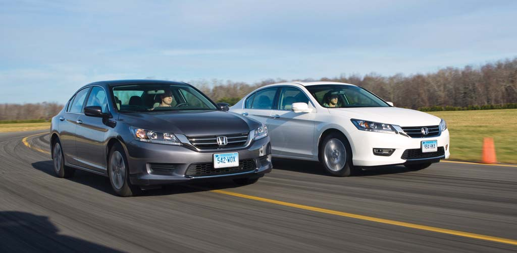 For family sedans, the  Honda Accord leads
