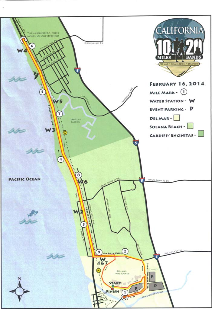 Encinitas approves 10-mile benefit run