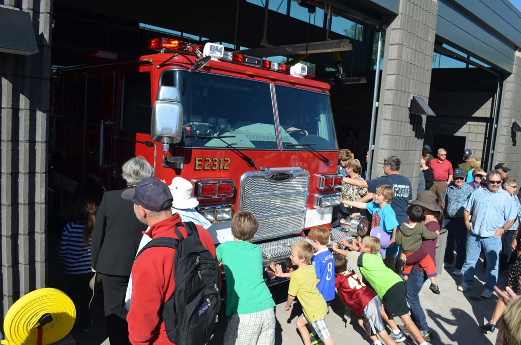 Fire Station No. 2 receives formal dedication