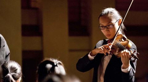 Torrey Pines High School to serve as concertmaster
