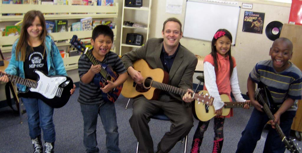 Students learn to sing the blues