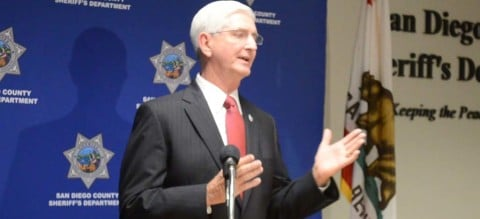 Sheriff speaks out against violence