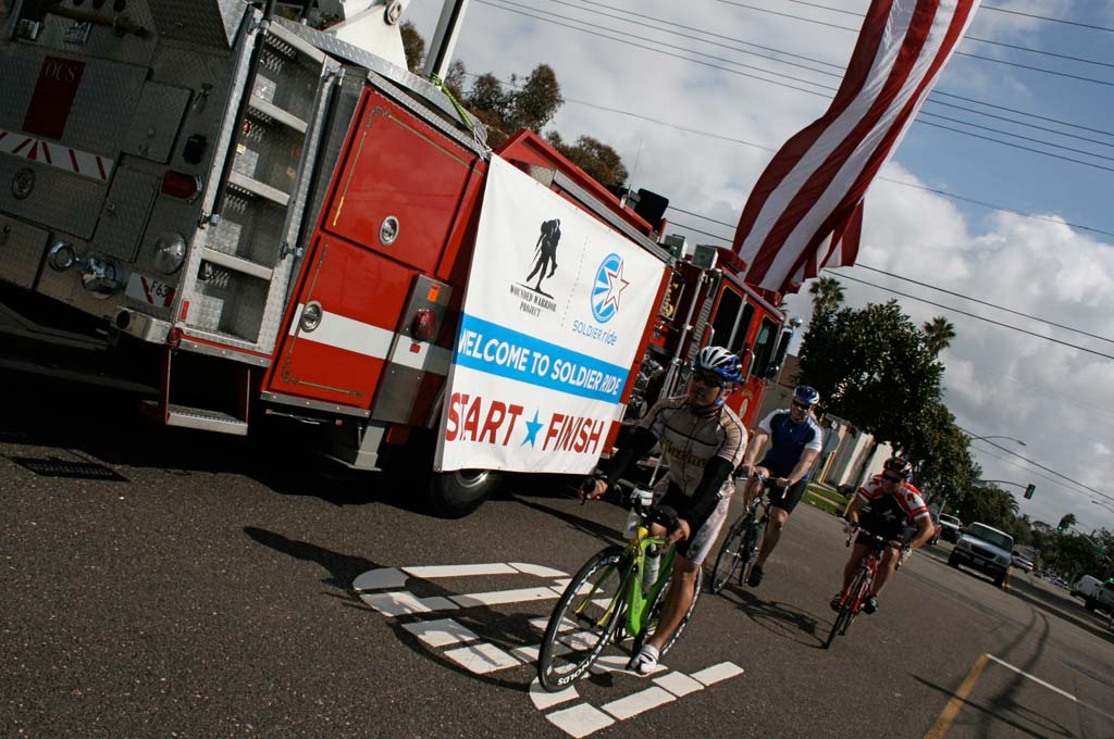 Wounded Warrior Soldier Ride pedals through O'side