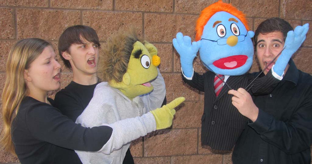 Canyon Crest Academy combines people, puppets on stage