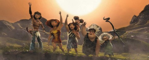 Film review: DreamWorks' 'The Croods' breaks the caveman mold