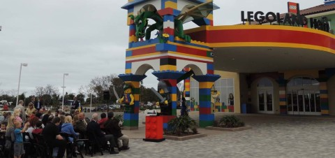 Legoland Hotel opens with pirates, pomp and circumstance