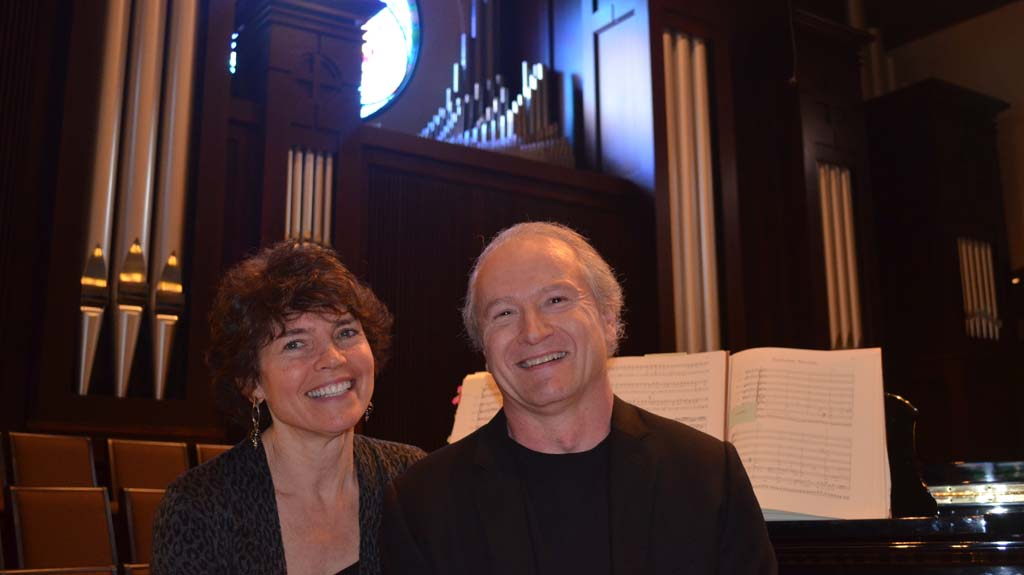 Helen and Richard Westerfield are collaborating on a new musical performance that will take an exploratory approach to some of Johann Sebastian Bach's compositions at the Village Church in Rancho Santa Fe.