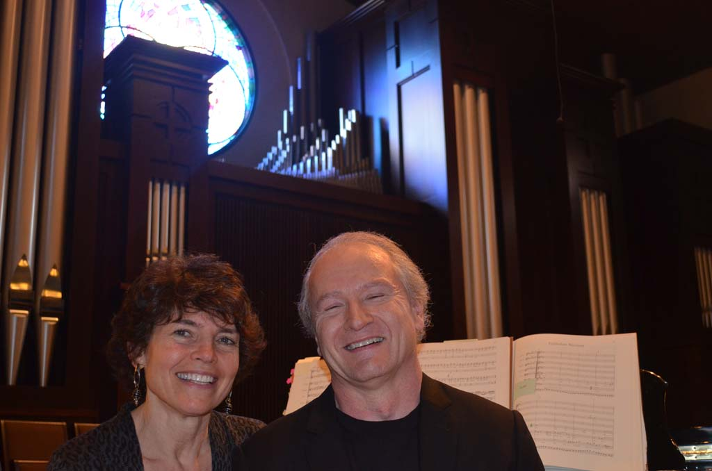 Helen and Richard Westerfield are collaborating on a new musical performance that will provide an exploration into some of Johann Sebastian Bach's compositions at the Village Church in Rancho Santa Fe.