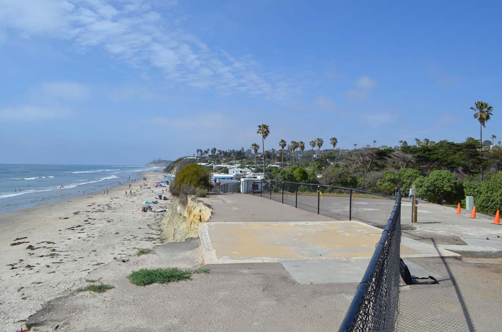 New San Elijo lifeguard tower on the horizon, interim station to serve as placeholder