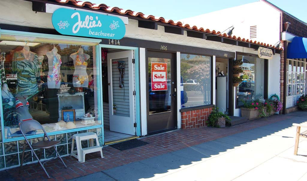 With vacancies increasing and sales tax decreasing in downtown Del Mar, City Council recently agreed to work with the business community to help the city become more business-friendly. Photo by Bianca Kaplanek