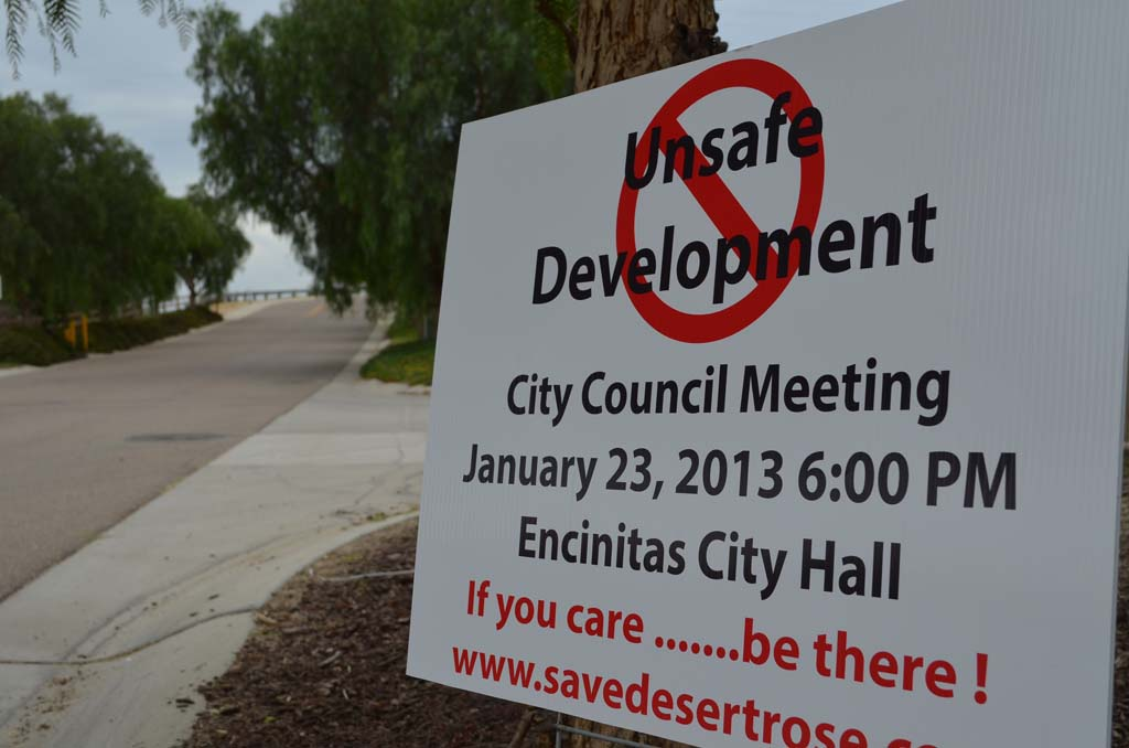 Residents file lawsuit over 'Desert Rose' development