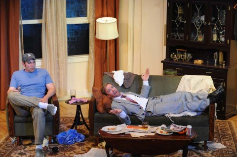'The Odd Couple' moves in at NC Rep