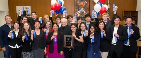 Torrey Pines High mock trial team top in county competition