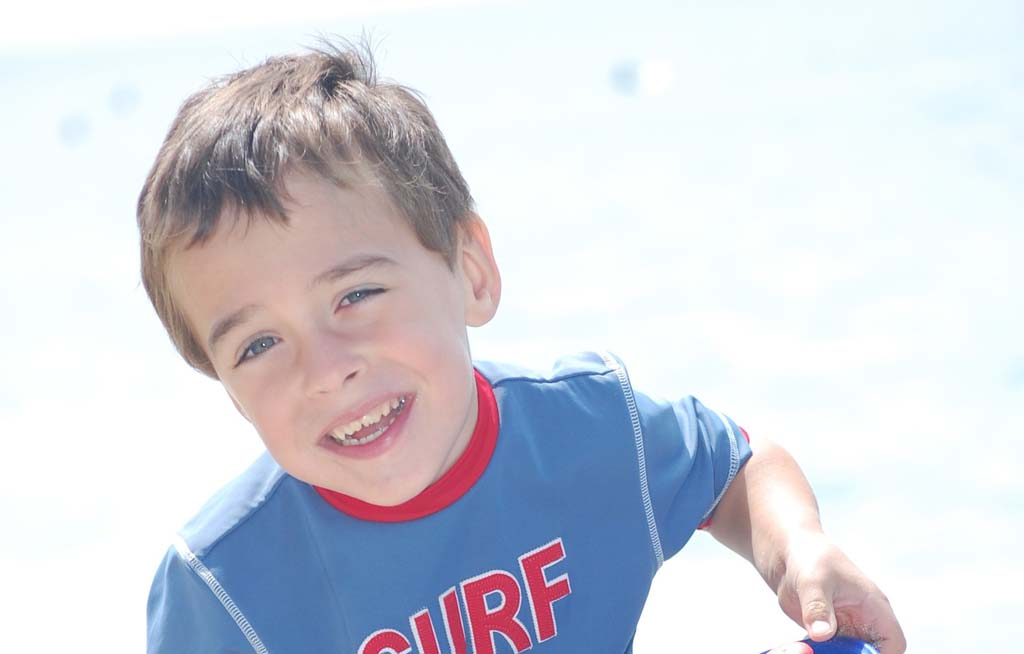 Surfers will paddle-out at Swami's Beach on April 6 at 10 a.m. to honor Vaughn James Ziegler, who passed away last December at the age of 7. Courtesy photo