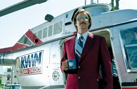 'Anchorman 2' holds open casting in classy San Diego
